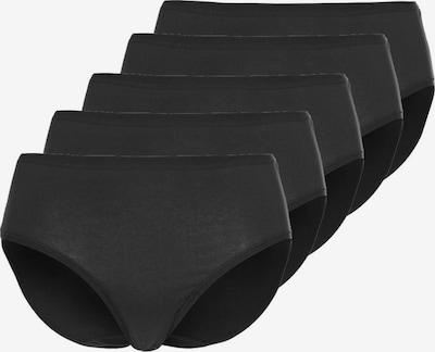 sassa Slip Maxi 'CASUAL COMFORT' in schwarz, Produktansicht