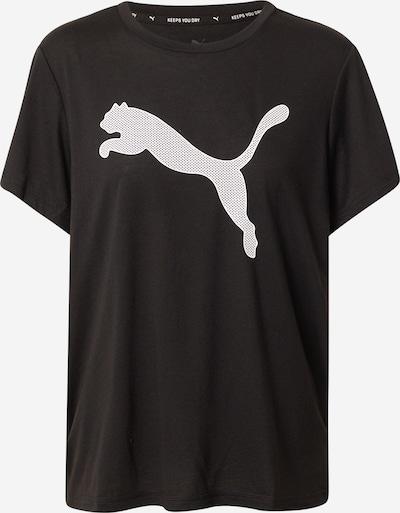 PUMA T-shirt fonctionnel 'Evostripe' en noir / blanc, Vue avec produit