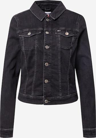 Tommy Jeans Between-Season Jacket 'VIVIANNE' in Black
