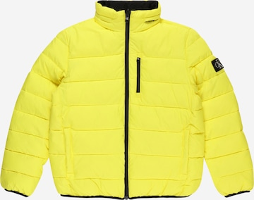 Calvin Klein Jeans Between-Season Jacket in Yellow