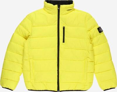 Calvin Klein Jeans Jacke in gelb / grau / schwarz, Produktansicht