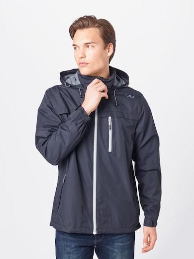CMP Outdoorová bunda - antracitová: Pohľad spredu