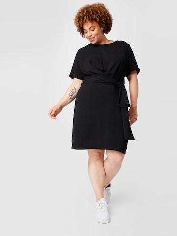 KAFFE CURVE Dress 'Lotta' in Black