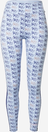 DELICATELOVE Sports trousers 'Nadi' in Blue / Opal / Pink, Item view