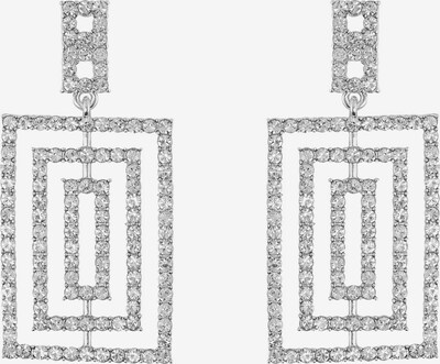 PIECES Uhani 'Karline' | siva / srebrno-siva barva, Prikaz izdelka