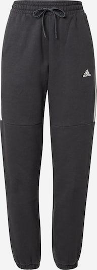 ADIDAS PERFORMANCE Спортен панталон в черно / бяло, Преглед на продукта