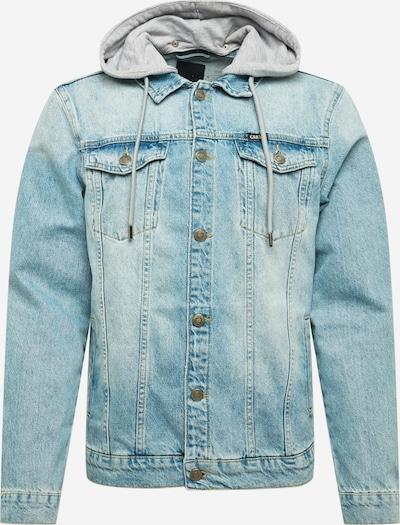 Cars Jeans Chaqueta de entretiempo 'TREY' en azul claro / gris moteado, Vista del producto