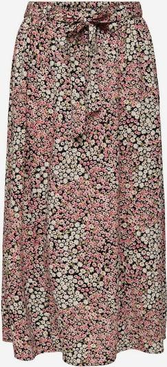 ONLY Rock in grün / pink / schwarz / weiß, Produktansicht