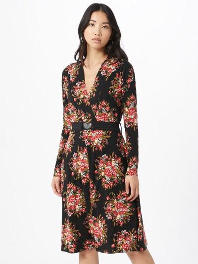 Blutsgeschwister Kleid in mischfarben / schwarz, Modelansicht