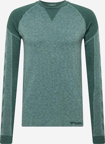 zaļš Hummel Sporta krekls 'Kent'