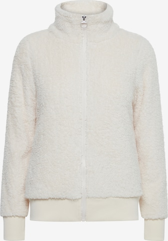 Oxmo Between-Season Jacket 'Anneka' in White