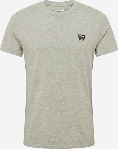 Tricou WRANGLER pe gri amestecat, Vizualizare produs