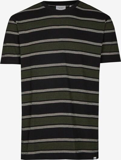 Cleptomanicx Shirt in grün / schwarz, Produktansicht
