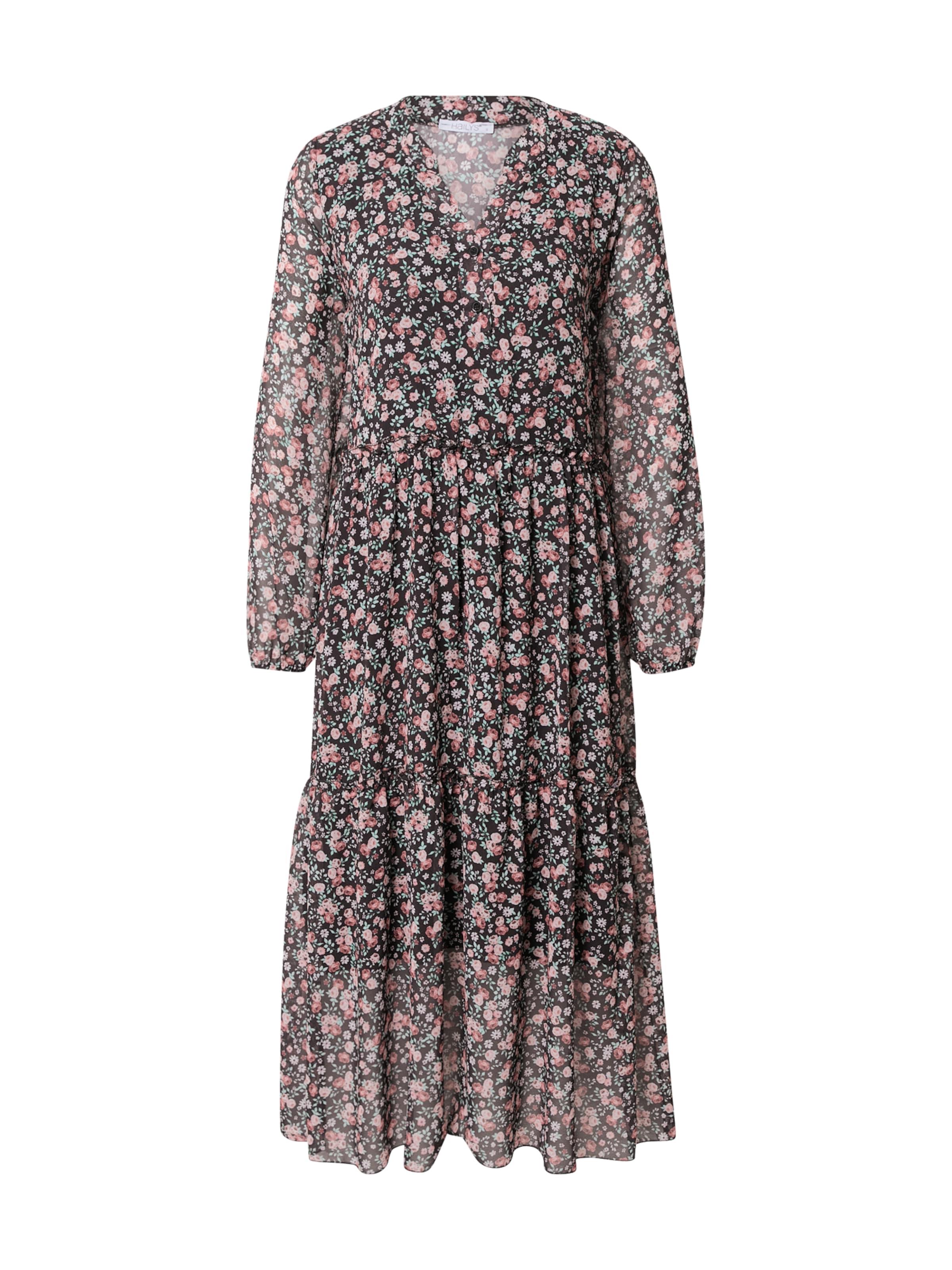 Hailys Kleid in mischfarben / schwarz
