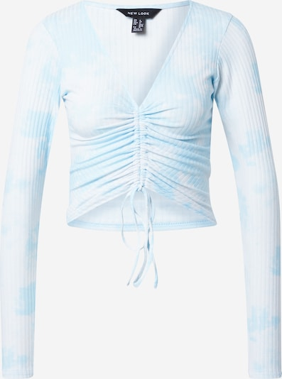 Tricou NEW LOOK pe albastru deschis / alb, Vizualizare produs
