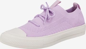LA STRADA Slip-Ons in Purple