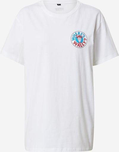 Merchcode Shirt in mischfarben / weiß, Produktansicht