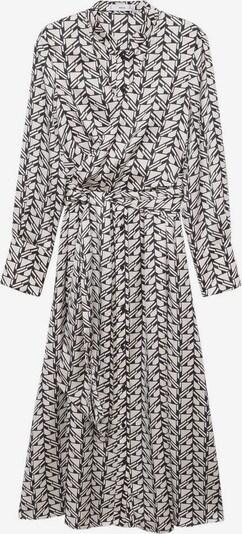 MANGO Kleid 'Volga' in ecru / schwarz, Produktansicht