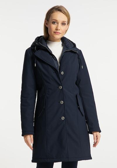 DreiMaster Klassik Mantel in dunkelblau, Modelansicht