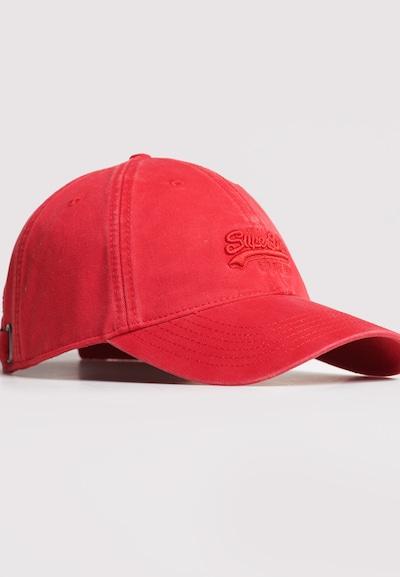 Superdry Superdry Orange Label Mütze in rot, Produktansicht