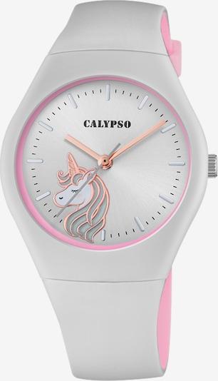 CALYPSO WATCHES Uhr in pastellorange / hellpink / weiß, Produktansicht