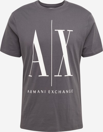 ARMANI EXCHANGE T-Shirt '8NZTPA' in grau / weiß, Produktansicht