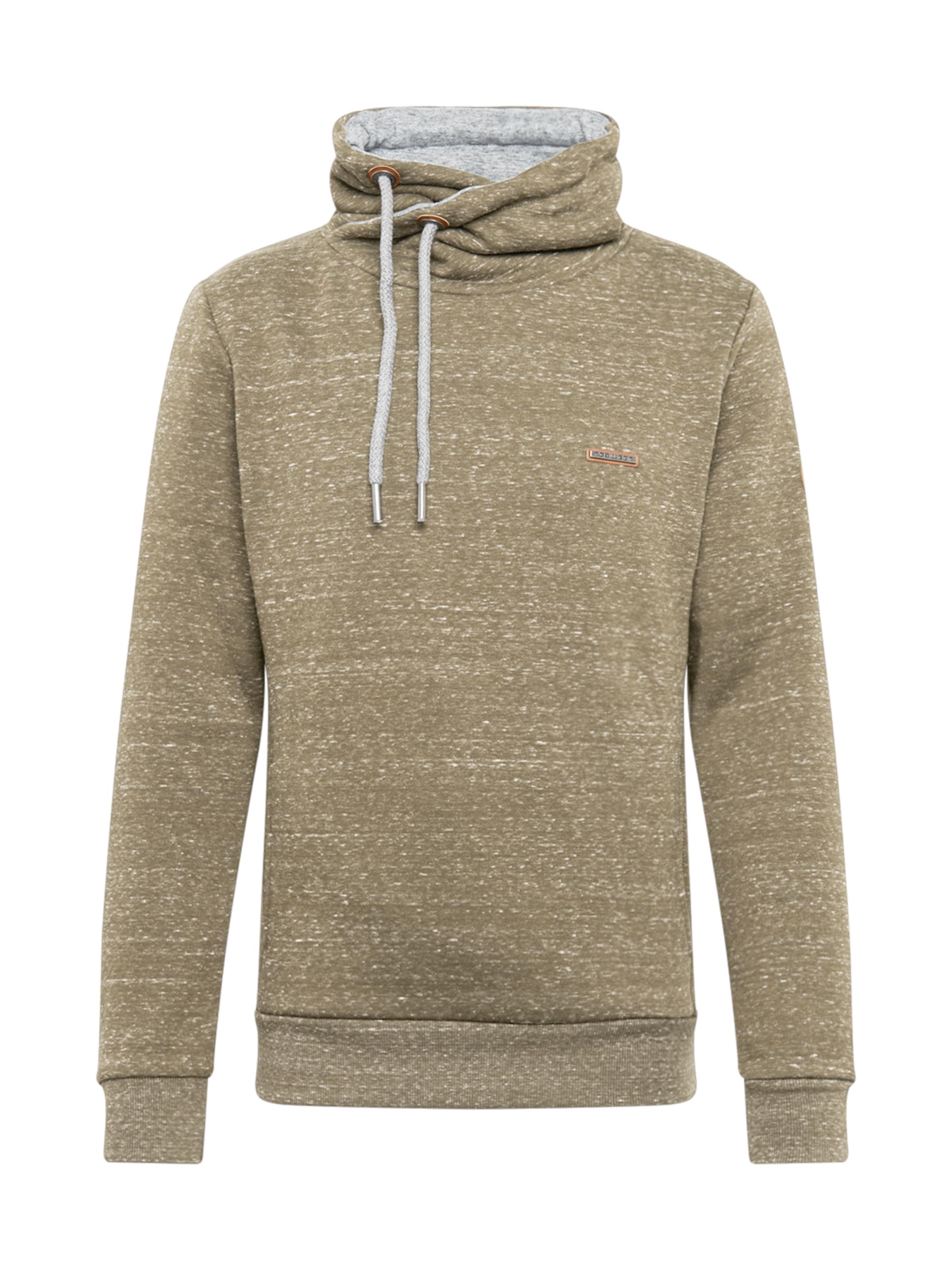 Ragwear Sweatshirt i grönmelerad
