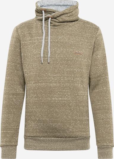 Ragwear Sweater majica u zelena melange: Prednji pogled