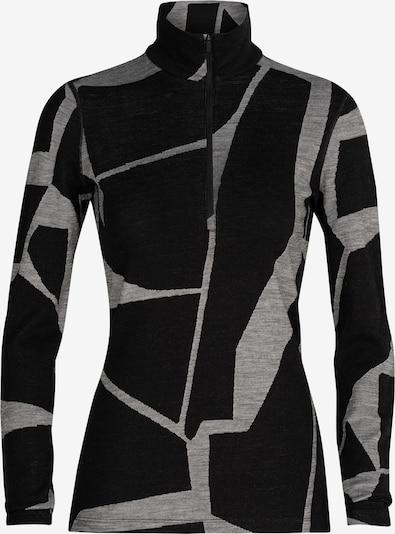 ICEBREAKER Funktionsshirt 'W 250 Vertex LS ' in grau / schwarz, Produktansicht