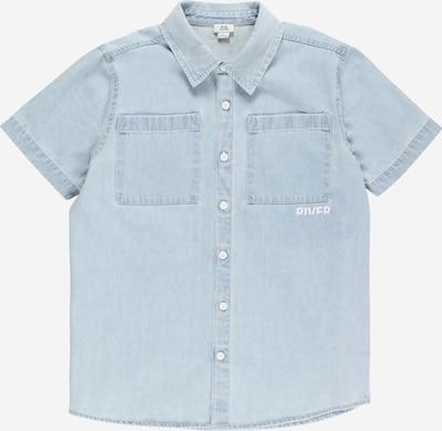 River Island Overhemd in de kleur Lichtblauw / Wit, Productweergave