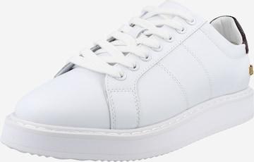 Lauren Ralph Lauren Σνίκερ χαμηλό 'ANGELINE II' σε λευκό