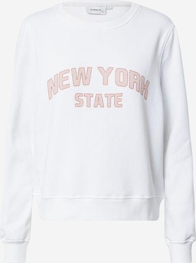 ONLY Bluzka sportowa 'Lydia' w kolorze różowy pudrowy / białym, Podgląd produktu