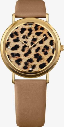 JOWISSA Armbanduhr 'AnWy' in braun, Produktansicht