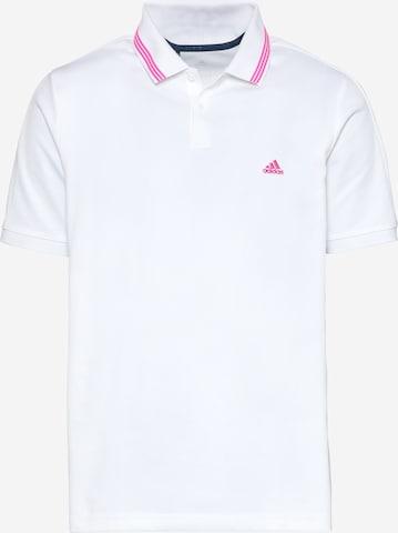 T-Shirt fonctionnel 'GO-TO' adidas Golf en blanc