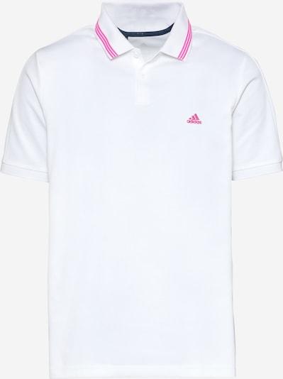 adidas Golf Functioneel shirt 'GO-TO' in de kleur Pink / Wit, Productweergave