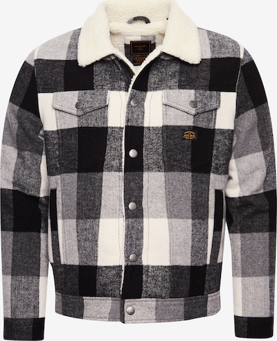Superdry Jacke 'Highwayman' in schwarz / weiß, Produktansicht
