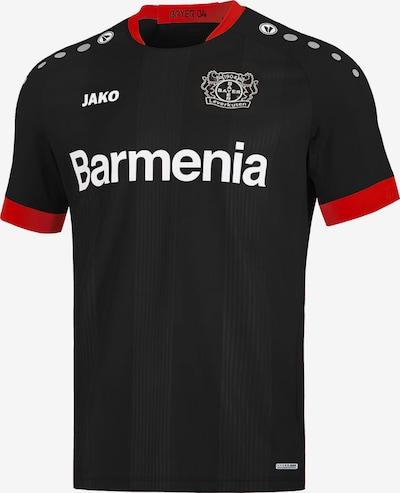 JAKO Trikot 'Bayer 04 Leverkusen 20-21 Heim' in grau / feuerrot / schwarz / weiß, Produktansicht