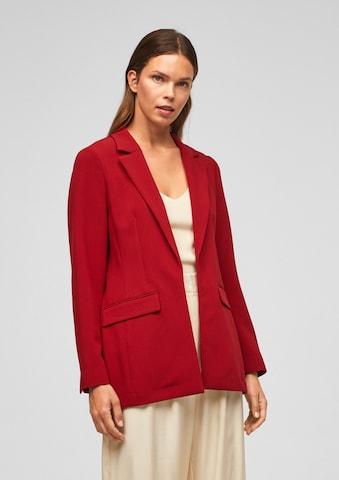 s.Oliver BLACK LABEL Blazer in Red