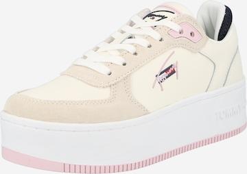 Sneaker low de la Tommy Jeans pe bej