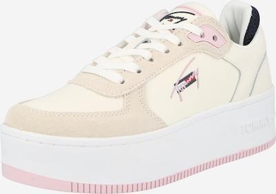 bézs / pasztell-rózsaszín Tommy Jeans Rövid szárú edzőcipők, Termék nézet