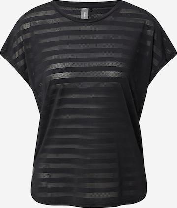 ONLY PLAY Functioneel shirt 'Anur' in Zwart