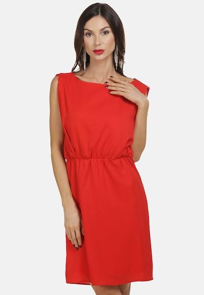 Rochie de vară faina pe roșu, Vizualizare model