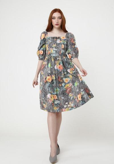 Madam-T Sommerkleid 'CHANTALE' in mischfarben, Modelansicht