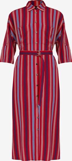 Finn Flare Blusenkleid in mischfarben / rot, Produktansicht
