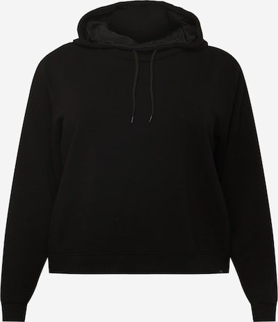 Only Play Curvy Athletic Sweatshirt 'DESS' in Black, Item view