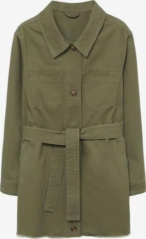 MANGO Between-Season Jacket 'Jucy7' in Green