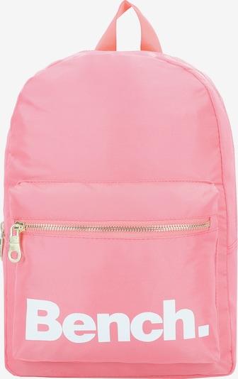 BENCH Rucksack 'City Girls' in pink / weiß, Produktansicht