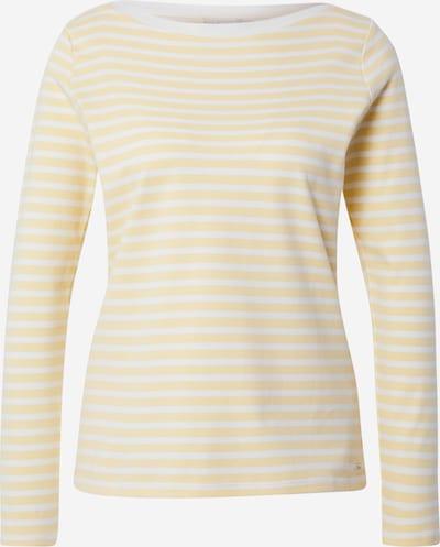 TOM TAILOR DENIM Тениска в жълто / бяло, Преглед на продукта