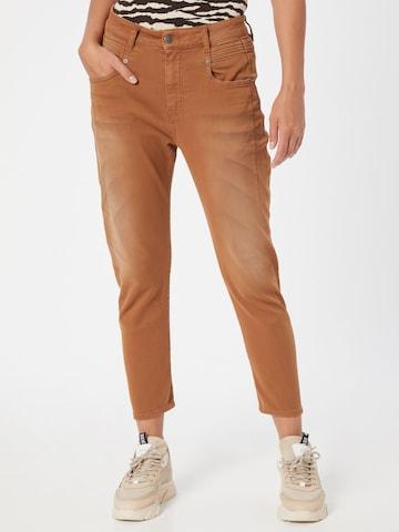 DIESEL Jeans 'FAYZA-P-NE' in Geel