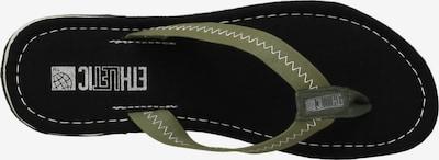 Ethletic Zehentrenner 'Fair Flip Classic' in grün / schwarz, Produktansicht